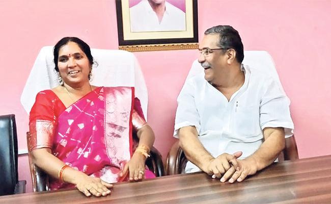 Medak MLA Padma Devender Reddy chit chat with sakshi - Sakshi