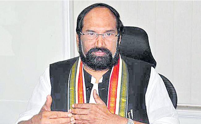 Speaker Cant Merge Parties Says Uttam Kumar Reddy - Sakshi