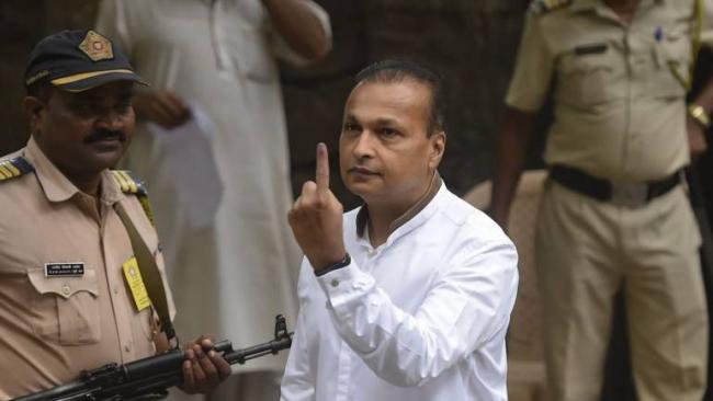 India Inc Votes: Ambanis Among First to Exercise Franchise in Mumbai - Sakshi