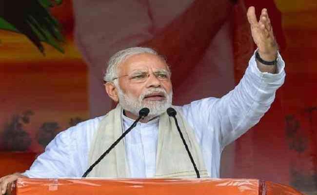 What Narendra Modi Words Speaks - Sakshi