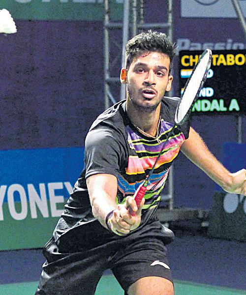 Rahul Defeated in Senior Ranking Badminton Final - Sakshi