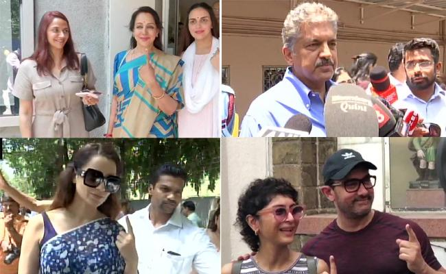 Lok Sabha Election 2019 Celebrity Voters - Sakshi