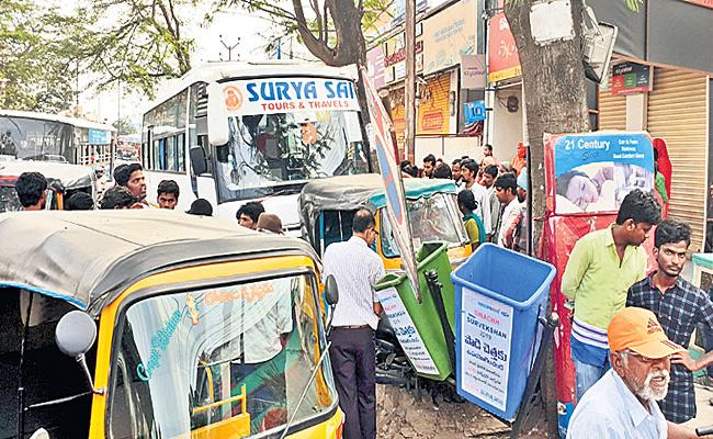 Wedding Bus Driver Drunk And Drive And Accident in Hyderabad - Sakshi