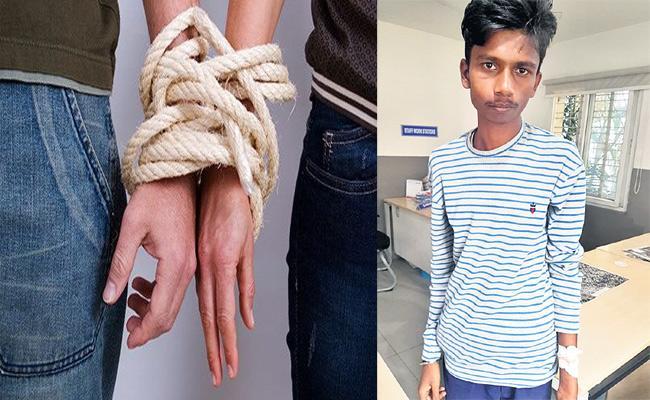 Brother Kidnapeed Sister Boyfriend in Hyderabad - Sakshi