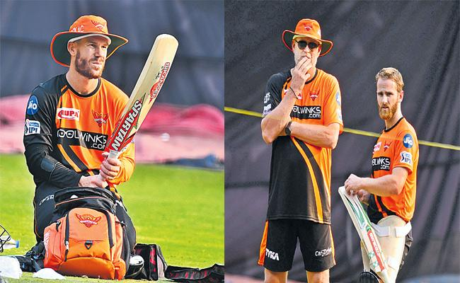 Sunrisers Hyderabad Match With Kings Eleven Punjab in Uppal - Sakshi