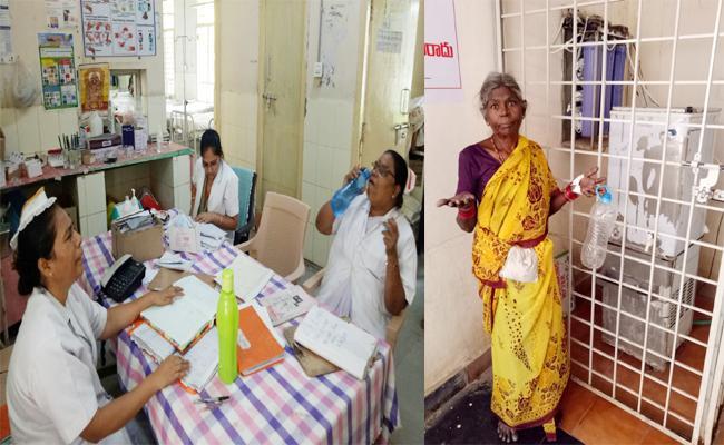 Water Problems in Sarvajana Hospital Anantapur - Sakshi