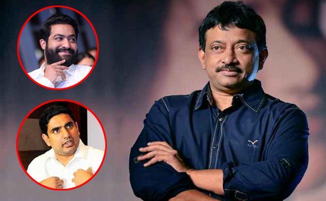 Ram Gopal Varma Said That Jr NTR is The True Heir to TDP - Sakshi