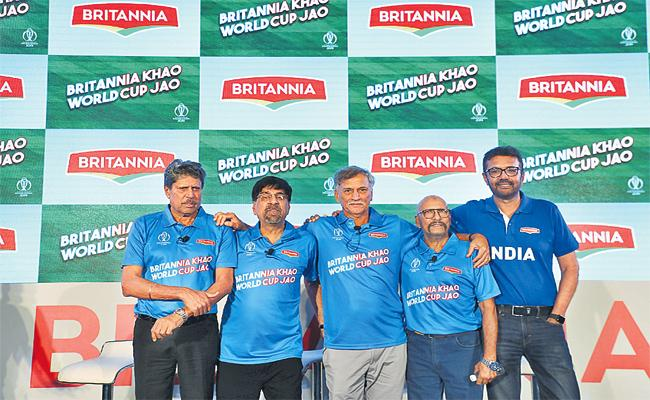 Britannia Company Agreement With ICC Cricket World Cup - Sakshi