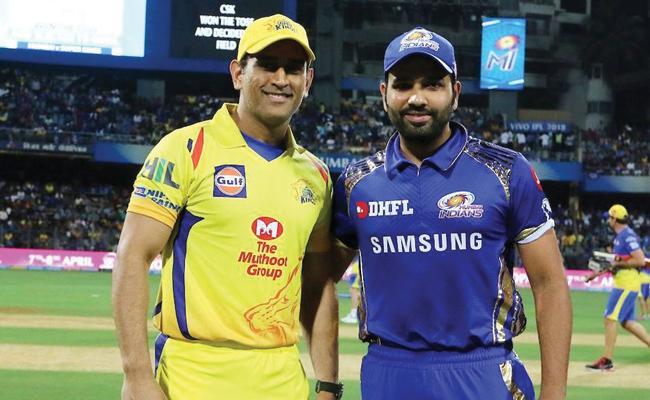 IPL 2019 CSK VS Mumbai Indians Match At Wankhede - Sakshi