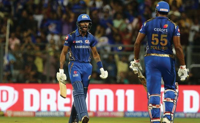 IPL 2019 Mumbai Indians Set 171 Target For CSK - Sakshi