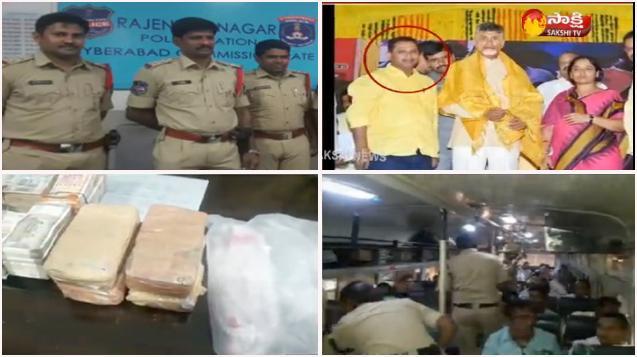 Police Seize Rs.24 Lakhs From Paritala sunitha follower - Sakshi