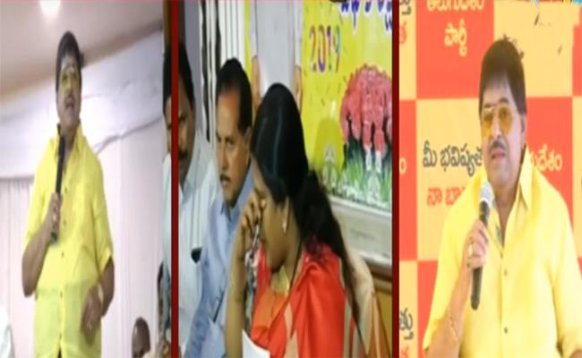 Peethala Sujatha warns ambika krishna - Sakshi