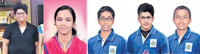 Six Telugu students in top 24 in JEE Main - Sakshi