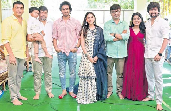 Sudheer Babu and Nani V Movie Launched - Sakshi