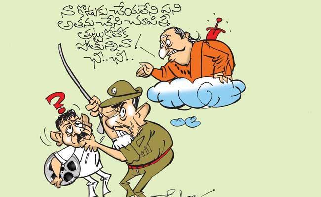 Chandrababu Naidu Try To Stop Release Laxmis NTR Movie In AP - Sakshi