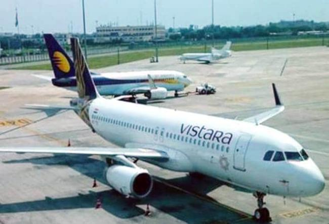 Vistara to Hire 100 Pilots, 400 Cabin Crew From Grounded Jet Airways - Sakshi