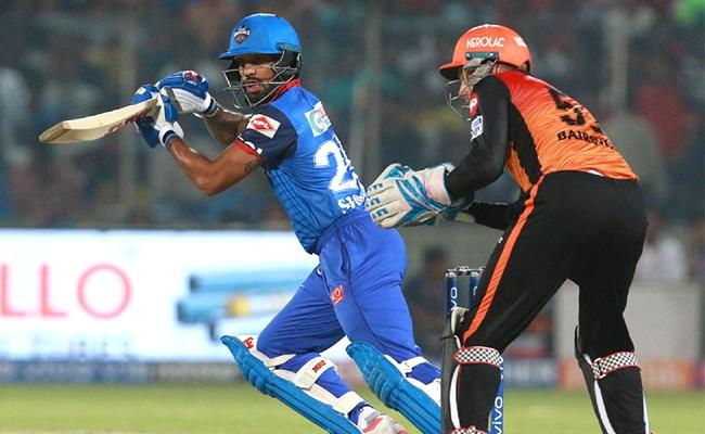 Delhi Capitals Set Target of 130 Runs Against SRH - Sakshi