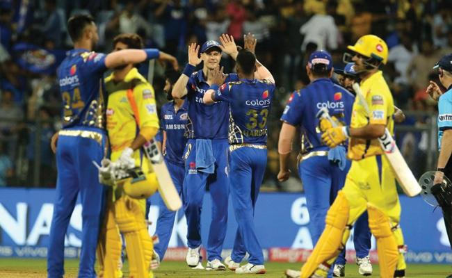 IPL 2019 Mumbai Indians Beat CSK By 37 Runs - Sakshi