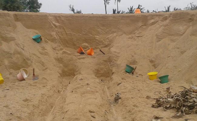 Sand Mafia In YSR Kadapa - Sakshi
