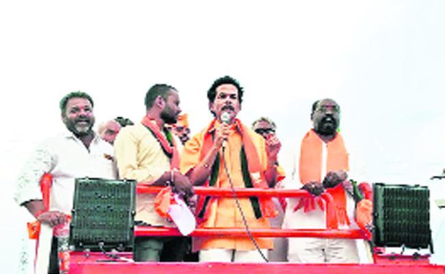Bjp Party Has People Power Said By Janardhan Reddy - Sakshi