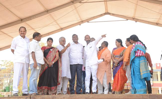 Bjp Concentrating On Kannaram - Sakshi