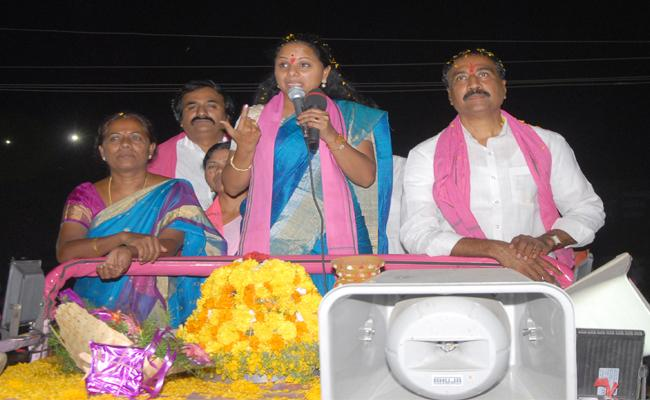 Kavita: Trs Winning Speed Has Not To Stop - Sakshi