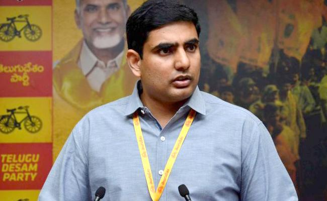 Nara Lokesh is not Innocent, Says BJP Leader GVL - Sakshi