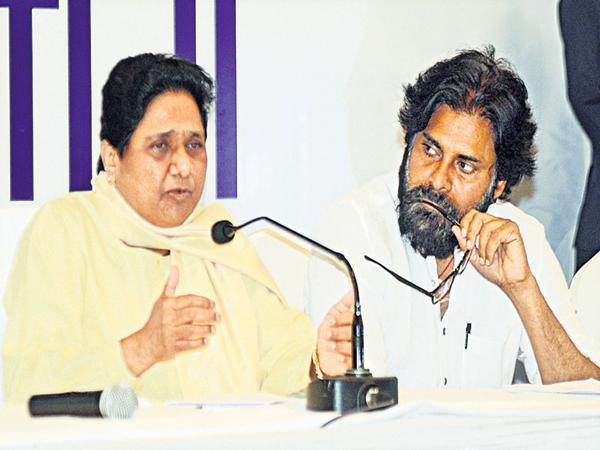 Mayavati Comments On BJP and Congress - Sakshi