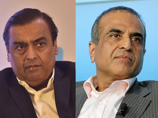 Mukesh Ambani AndSunil Mittal Considering for Stake in Zee - Sakshi