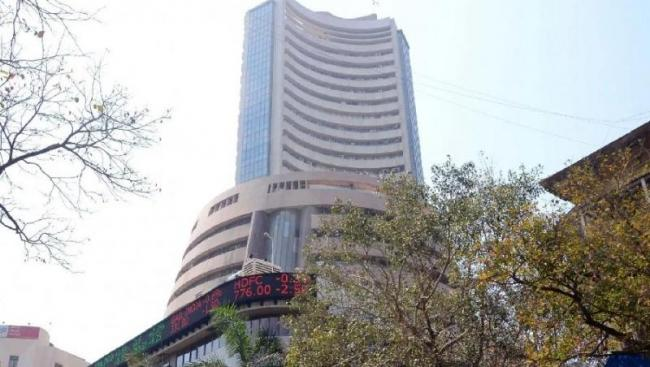 Sensex rises over 150 points, Nifty above 11750 - Sakshi