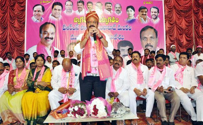 Gaddam Ranjith Reddy Chevella TRS MP Candidate The Face of the Future - Sakshi