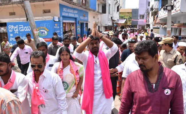 Talasani Saikiran Leading in Secunderabad Lok Sabha Constituency - Sakshi
