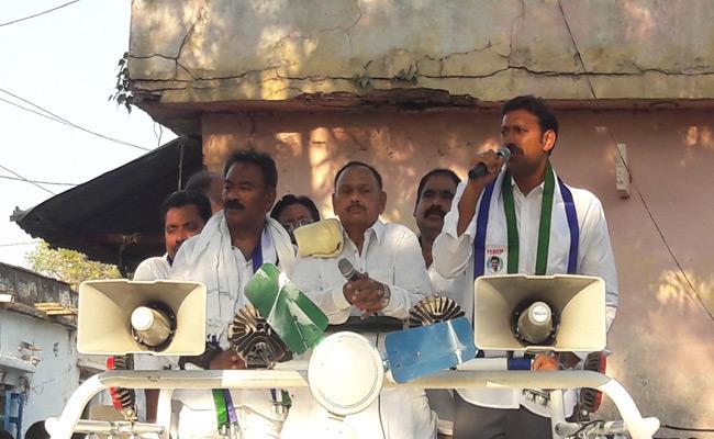 YS Avinash Reddy Campaign In Khazipeta - Sakshi