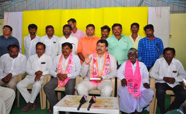 TRS Party State Secretary Chada Kishan Reddy Press Meeting - Sakshi