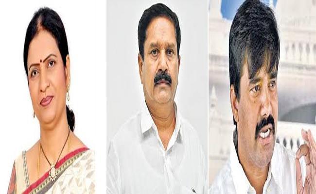 Present Mahabubnagar Mp Contesting Candidates Are Previously Congress Leaders - Sakshi