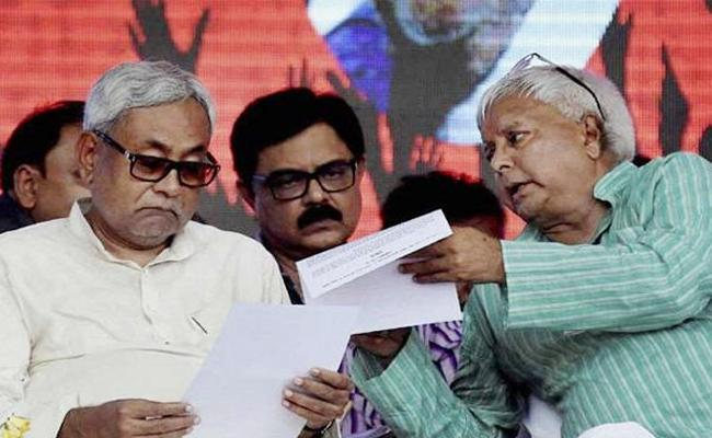 Lalu Prasad Yadav: Nitish Kumar wanted to rejoin mahagatbandhan - Sakshi