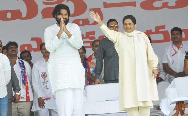 Pawan Kalyan Forget Janasena Party Candidates in Chittoor Meeting - Sakshi