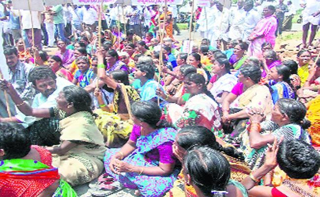 TDP Leaders Adi Narayana Reddy And Ramasubba Reddy Irregularities - Sakshi