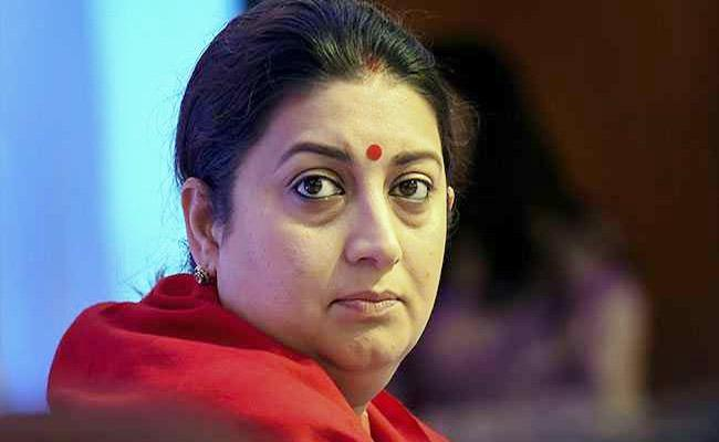 Congress Criticizes Smriti Irani Over Her Comments On Rahul Gandhi - Sakshi