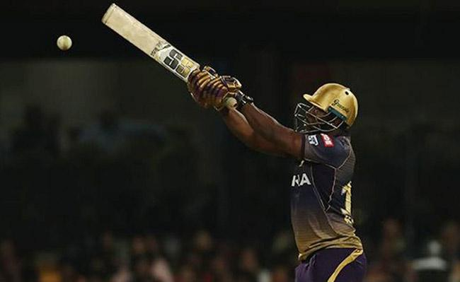 Andre Russell Strom in IPL 2019 - Sakshi