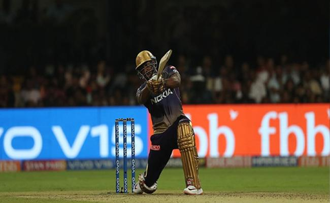 IPL 2019 Russell Carnage Leads KKR to 5 wicket win Against RCB - Sakshi