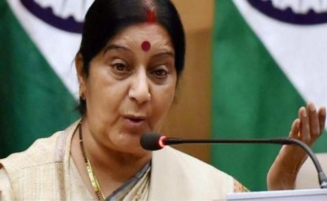 Maintain Some Decorum: Sushma Swaraj  - Sakshi