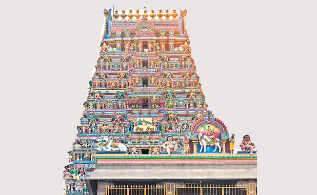 There are Many Features in Every Part of the Temple - Sakshi