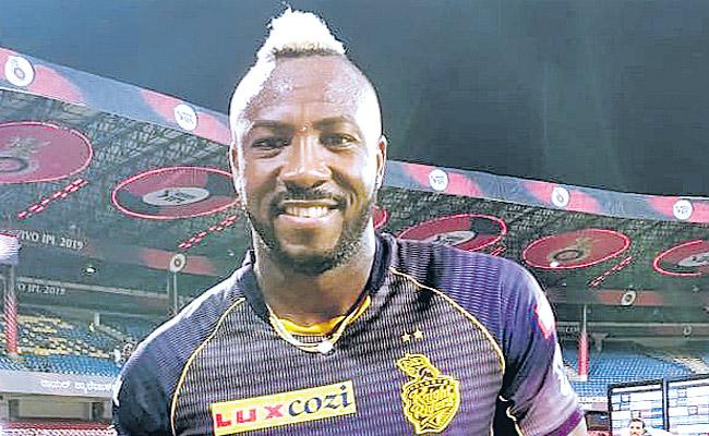 No Ground is Big Enough For me I Guess Says Andre Russell - Sakshi