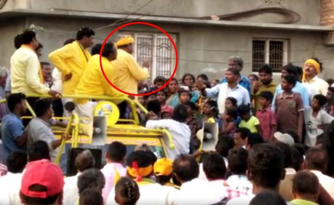 TDP MLA Badeti Bujji angry on Dalits at Election campaign - Sakshi