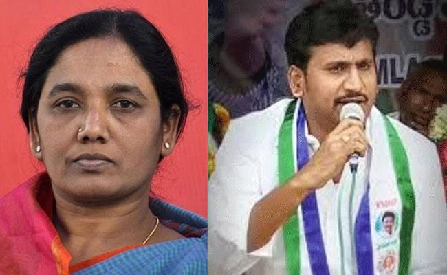 Paritala Sunitha Supporters Attacks On YSRCP Leader Thopudurthi Prakash Reddy Convoy - Sakshi