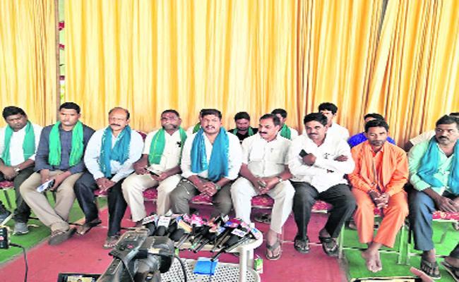 Nizamabad Rythu MP Candidates Said To Rythu People For Meeting - Sakshi