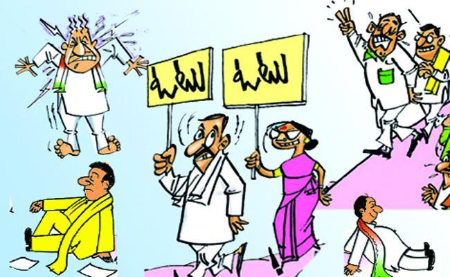 Lok Sabha Election Mark Is Not Visible In Telangana - Sakshi