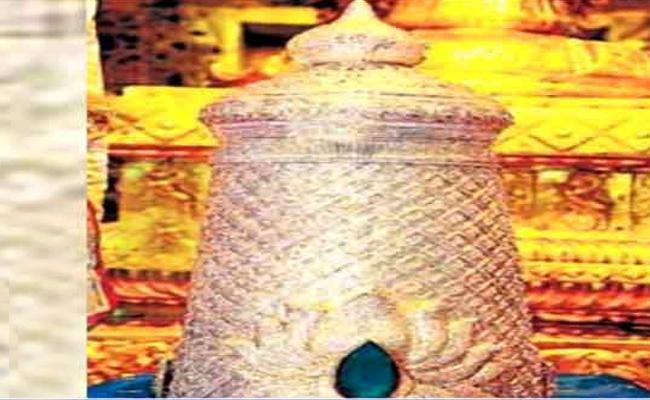Govindaraja Swamy Kiritam Robbery Case Chased - Sakshi