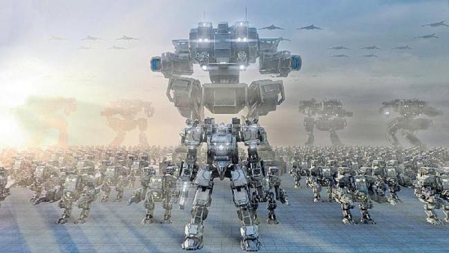 AI robots could assist soldiers in future - Sakshi